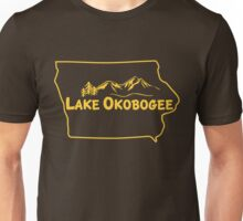 Lake Okobogee, Iowa Unisex T-Shirt