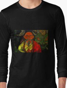 """Dragon Style"" Long Sleeve T-Shirt"