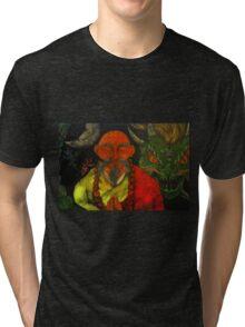 """""""Dragon Style"""" Tri-blend T-Shirt"""