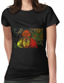 """""""Dragon Style"""" Womens Fitted T-Shirt"""