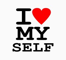 Parody, satire, humour, I heart MY self Unisex T-Shirt