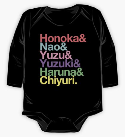 Syachi goes Helvetica One Piece - Long Sleeve