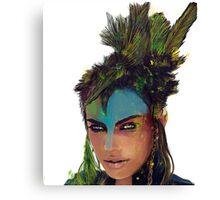 Mad Max world warrior Canvas Print