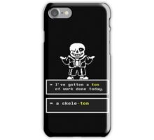 Undertale Sans iPhone Case/Skin