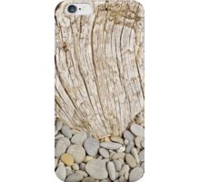 Pebbles and Driftwood Abstract iPhone Case/Skin