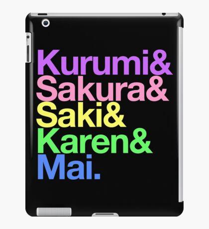 Takoniji goes Helvetica iPad Case/Skin