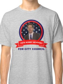 Vote Bobby Newport - Parks And Recreation Classic T-Shirt