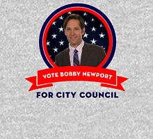 Vote Bobby Newport - Parks And Recreation Unisex T-Shirt