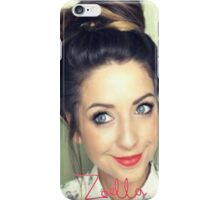 Zoella  iPhone Case/Skin