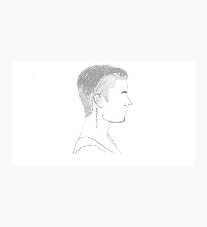 Justin Bieber Profile Photographic Print