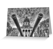 Big guns Greeting Card