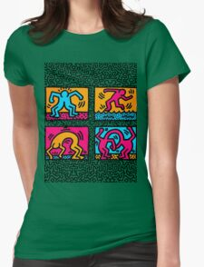 KEITH SHOP Womens Fitted T-Shirt