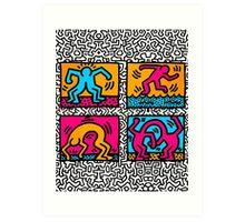 KEITH SHOP Art Print
