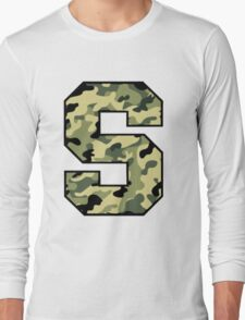Camouflage Syracuse 'S' Logo Long Sleeve T-Shirt