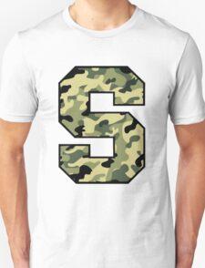 Camouflage Syracuse 'S' Logo Unisex T-Shirt