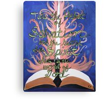 Verse Creative Painting Scripture Canvas Print