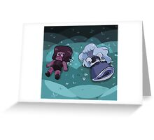 Ruby and Sapphire - Meet Greeting Card