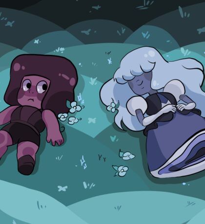 Ruby and Sapphire - Meet Sticker
