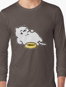 Neko atsume - Tubbs cat Long Sleeve T-Shirt