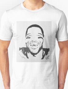 Michael Strahan Portrait Unisex T-Shirt
