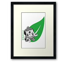 Balbusaur - Pokemon Framed Print