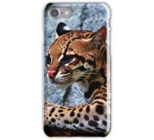 Ocelot Painted iPhone Case/Skin