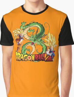Dream Match Versus - Son Goku VS Vegeta Super Saiyan 3 Graphic T-Shirt