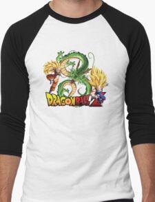 Dream Match Versus - Son Goku VS Vegeta Super Saiyan 3 Men's Baseball ¾ T-Shirt