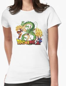 Dream Match Versus - Son Goku VS Vegeta Super Saiyan 3 Womens Fitted T-Shirt