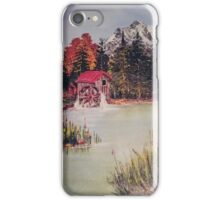 The Water Mill iPhone Case/Skin
