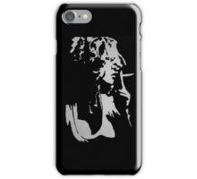 Portrait of Girl Smoking  iPhone Case/Skin