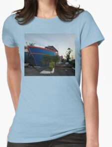 Ship Out Of Water, Queensland, Australia 2008 Womens Fitted T-Shirt