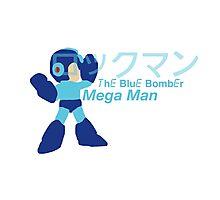 Mega Man The Blue Bomber Photographic Print
