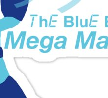 Mega Man The Blue Bomber Sticker