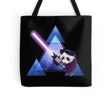 Galactic Panda With Lightsaber Tote Bag