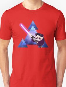 Galactic Panda With Lightsaber T-Shirt