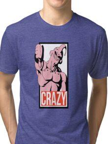 Crazy Buu - Dragon Ball Tri-blend T-Shirt