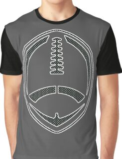Vector Football - Mesh (Black) Graphic T-Shirt