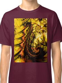 Yellow Symbol Art Design Classic T-Shirt