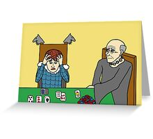 Poker Greeting Card