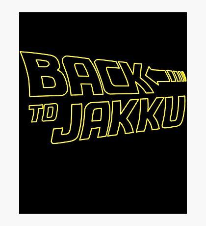 Back To Jakku  Photographic Print