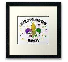 2016 Mardi Gras New Orleans NOLA 2016 Framed Print