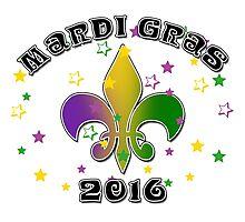 2016 Mardi Gras New Orleans NOLA 2016 Photographic Print