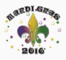 2016 Mardi Gras New Orleans NOLA 2016 Kids Tee
