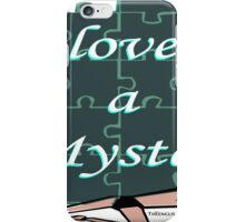 I Love a Mystery Puzzle iPhone Case/Skin