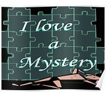 I Love a Mystery Puzzle Poster