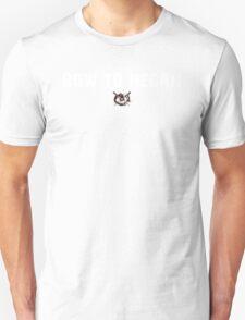 The Walking Dead - Bow To Negan - Grunge Unisex T-Shirt