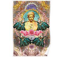 softest romantic rose queen Poster