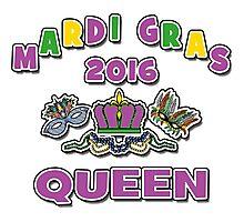 Mardi Gras Queen 2016 New Orleans NOLA 2016 Photographic Print