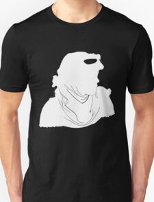 "Rey ""The Scavenger"" Silhoutte (White) Unisex T-Shirt"